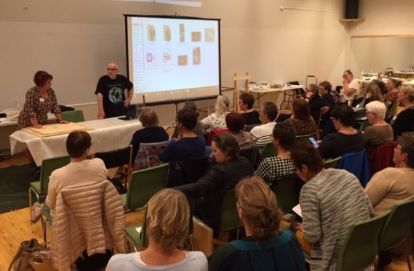 Lecture and demo of modeling on meeting of Danish glass artists association in Nyborg (DENMARK),2019
